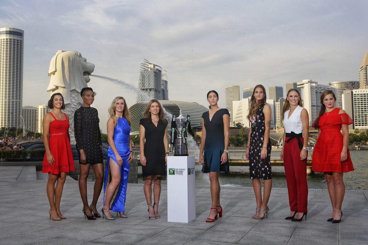 WTA Finals Singapore: Si parte domani. Ecco  il programma delle prime due giornate