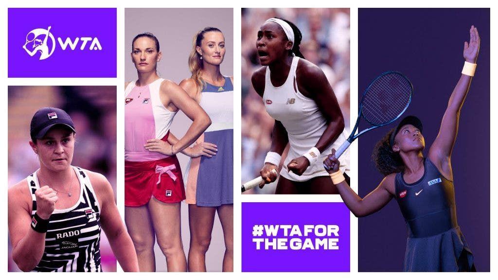 La WTA conferma il cambiamento nella categoria dei tornei e ha anche un nuovo logo