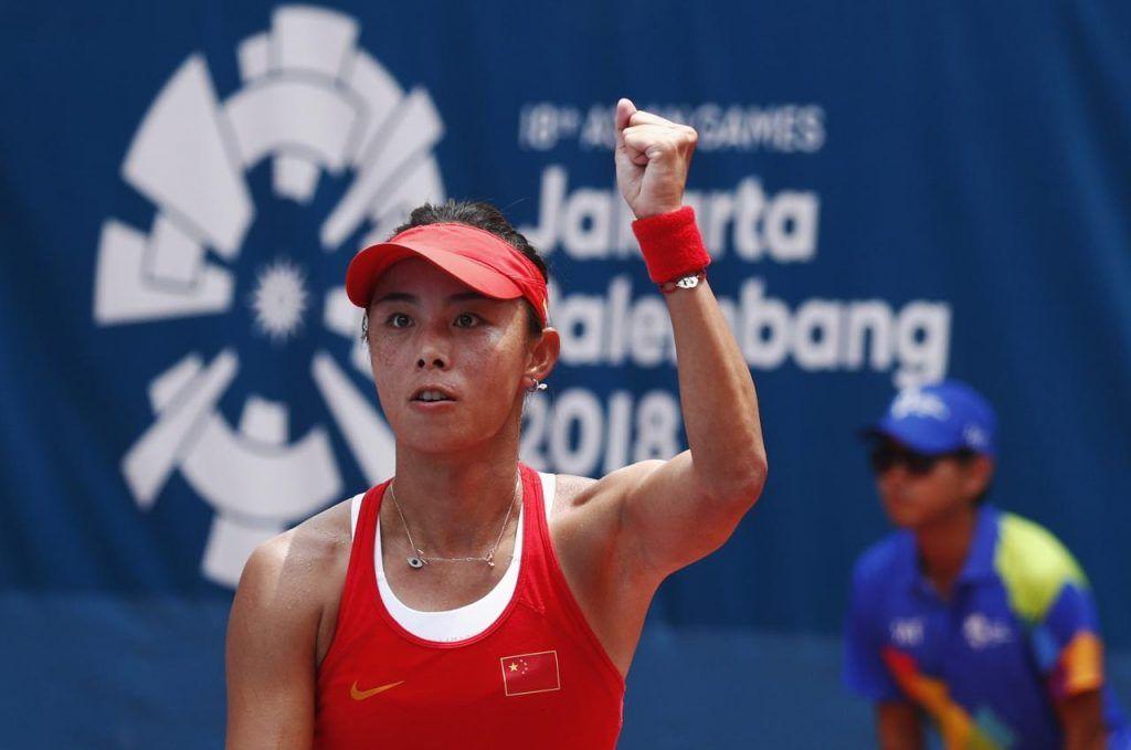 Qiang Wang nella foto
