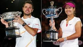 I campioni del primo Slam stagionale, Stan Wawrinka e Na Li, sono diventati protagonisti in negativo del torneo parigino perdendo al primo turno.