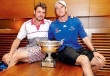 """Roger Federer sulla fine del rapporto tra Norman-Wawrinka: """"Non mi sorprende più di tanto. Più che sorpreso dalla decisione mi ha sorpreso da quanti anni durava il loro rapporto"""""""