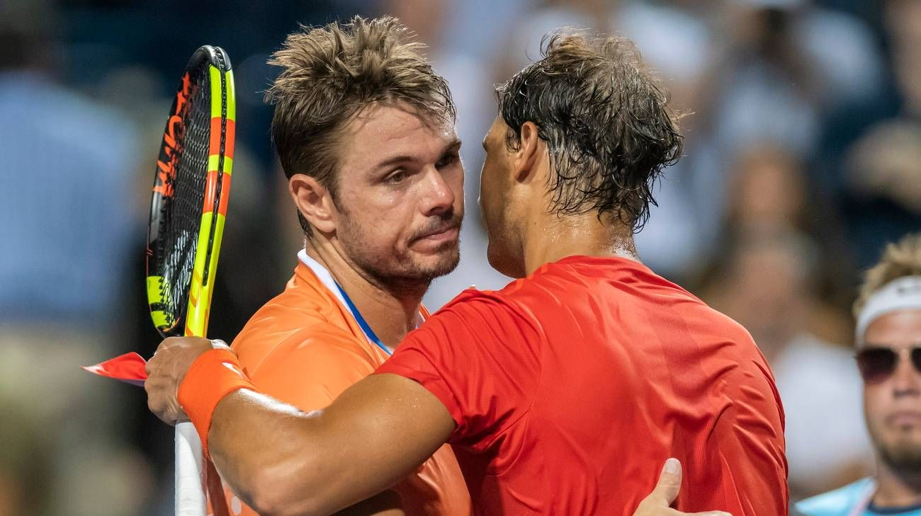 Stan Wawrinka e Rafael Nadal