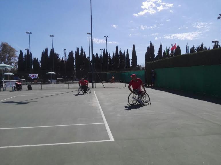 Ultimo turno gironi qualificazione Bnp Paribas World Team Cup wheelchair tennis Alghero 2017