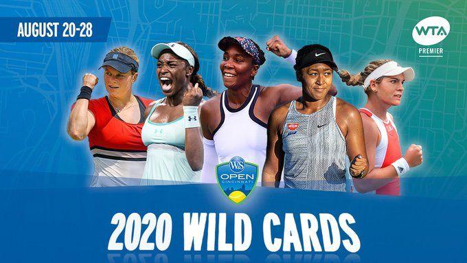 WTA Cincinnati: Ecco tutte le wild card per il main draw. Stephens e Osaka ci ripensano e sono wild card