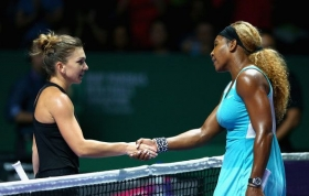 Serena Williams e Simona Halep