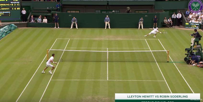 I migliori colpi del decennio del torneo di Wimbledon (Video)