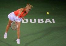WTA Dubai: Caroline Wozniacki conclude in bellezza la settimana negli Emirati