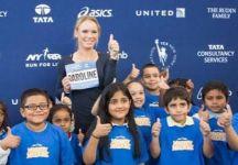 Caroline Wozniacki tra impegno sportivo e solidarietà a New York