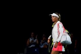 Caroline Wozniacki nella foto
