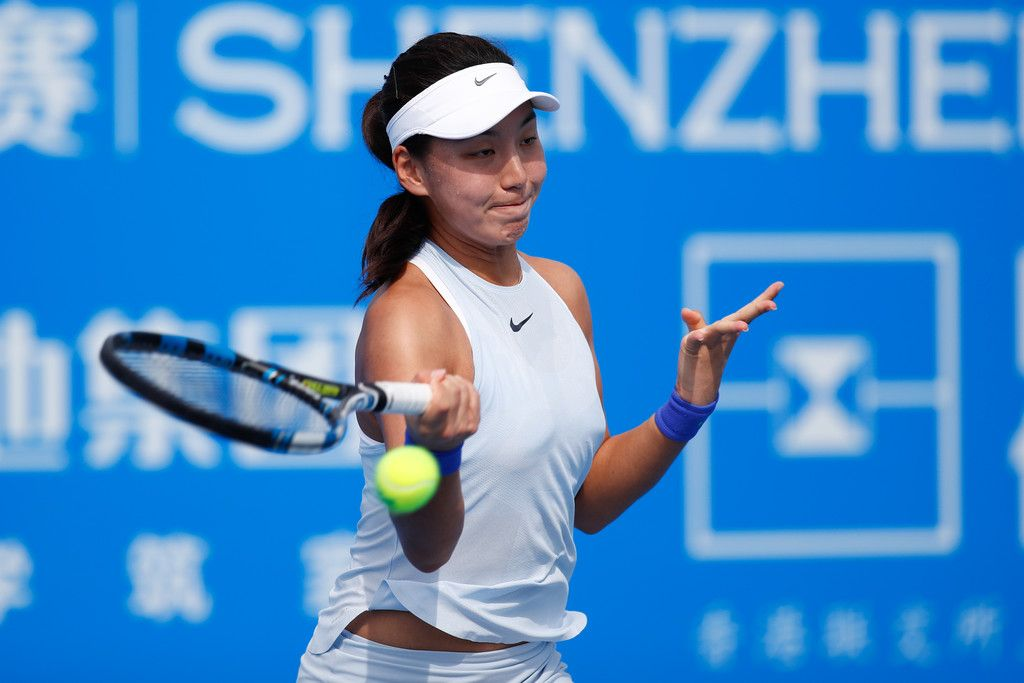 Xinyu Wang, classe 2001 e n.491 WTA (n.4 ITF)