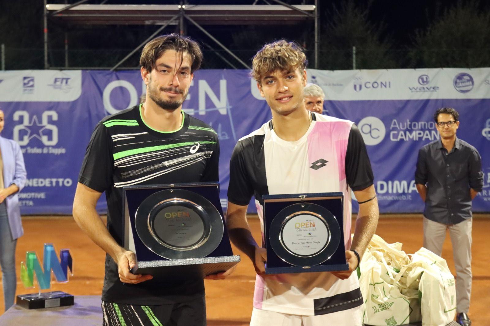 Giulio Zeppieri e Flavio Cobolli nella foto