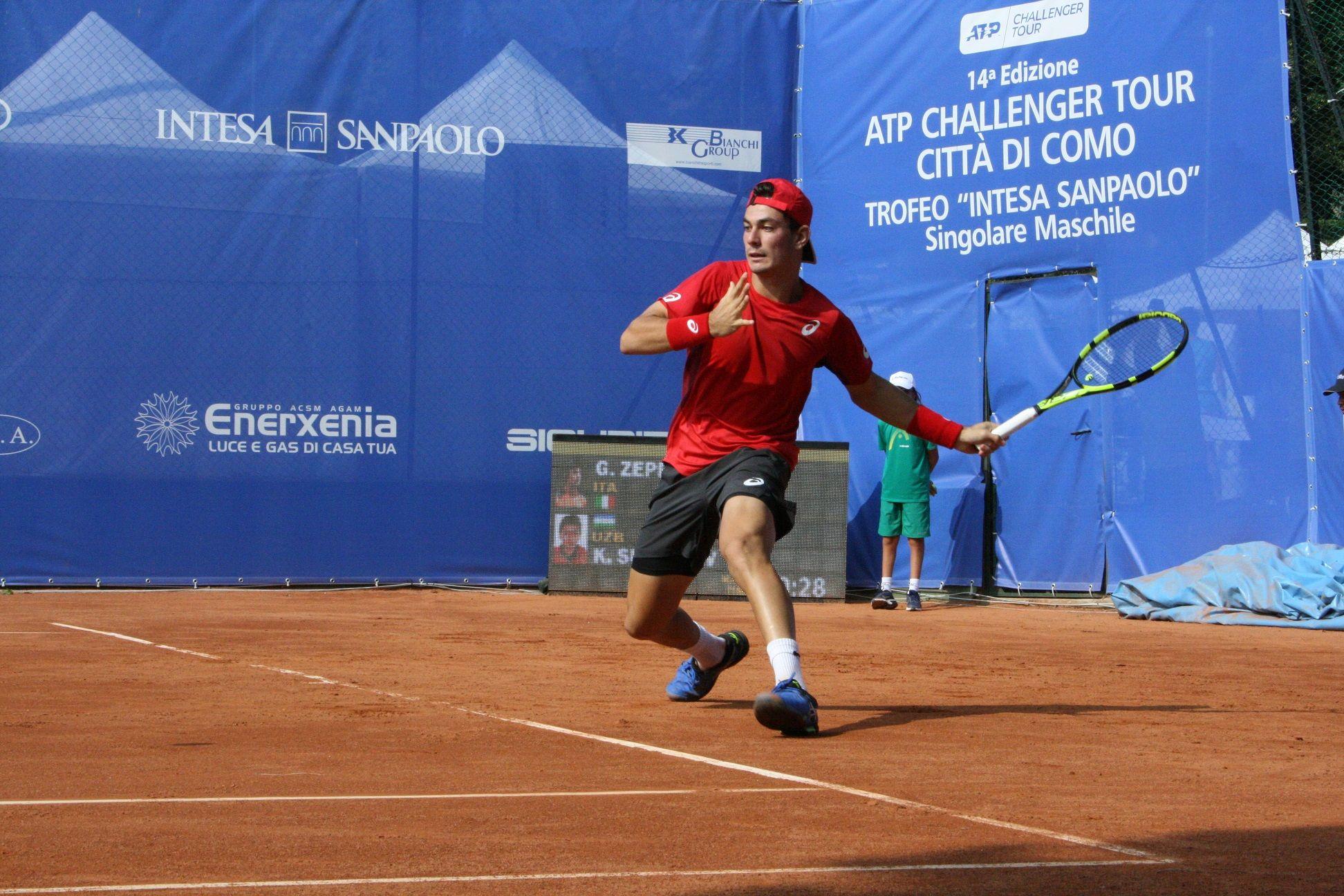 Giulio Zeppieri nella foto