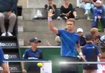 Video – Bastad: Scivolone di Filippo Volandri contro Jurgen Zopp