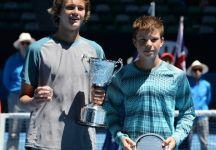 Australian Open Juniores: Titoli ad Alexander Zverev (che domina Kozlov) e a Elizaveta Kulichkova