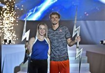 Alexander Zverev e Anastasia Pavlyuchenkova vincono la seconda edizione dell'Ultimate Tennis Showdown (con il video della premiazione)