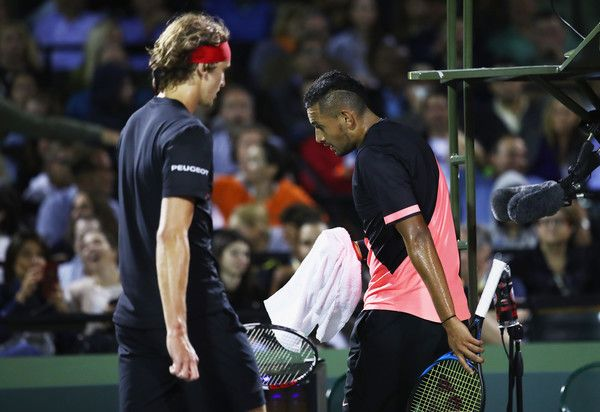 Miami Open: Alexander Zverev batte Nick Kyrgios nella sfida dei Next Gen (Video)