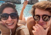 Alexander Zverev dopo 9 mesi si separa dalla modella Brenda Patea