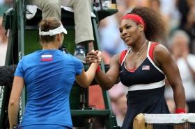 L'ultimo incontro di Vera Zvonareva è stato alle Olimpiadi di Londra contro Serena Williams