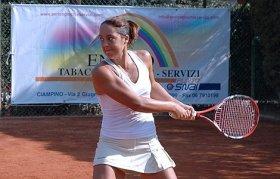 Gioia Barbieri classe 1991, n.357 WTA - Foto Alessandro Nizegorodcew