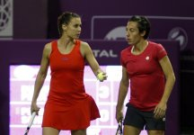 WTA Dubai: Eliminate anche in doppio Francesca Schiavone e Flavia Pennetta
