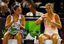 WTA Miami – Finale Doppio. Roberta Vinci e Sara Errani si arrendono al supertiebreak a Petrova-Kirilenko
